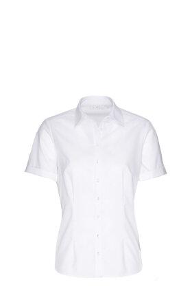 ETERNA - Skjorte Korte Ærmer Hvid