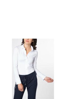 ETERNA - Bluse M/Skjorte Look Hvid