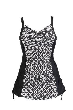 WIKI - Plus-Size Swimsuit w. Skirt
