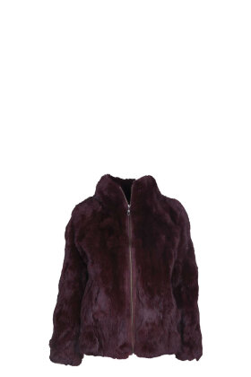 FURST - Suede Rabbit Jacket