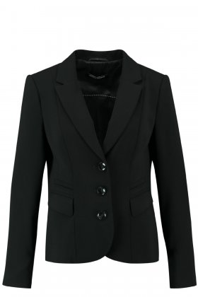 GERRY WEBER - Klassisk Blazer Sort