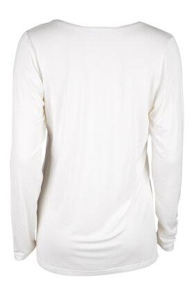 ZHENZI - Langærmet T-shirt Offwhite