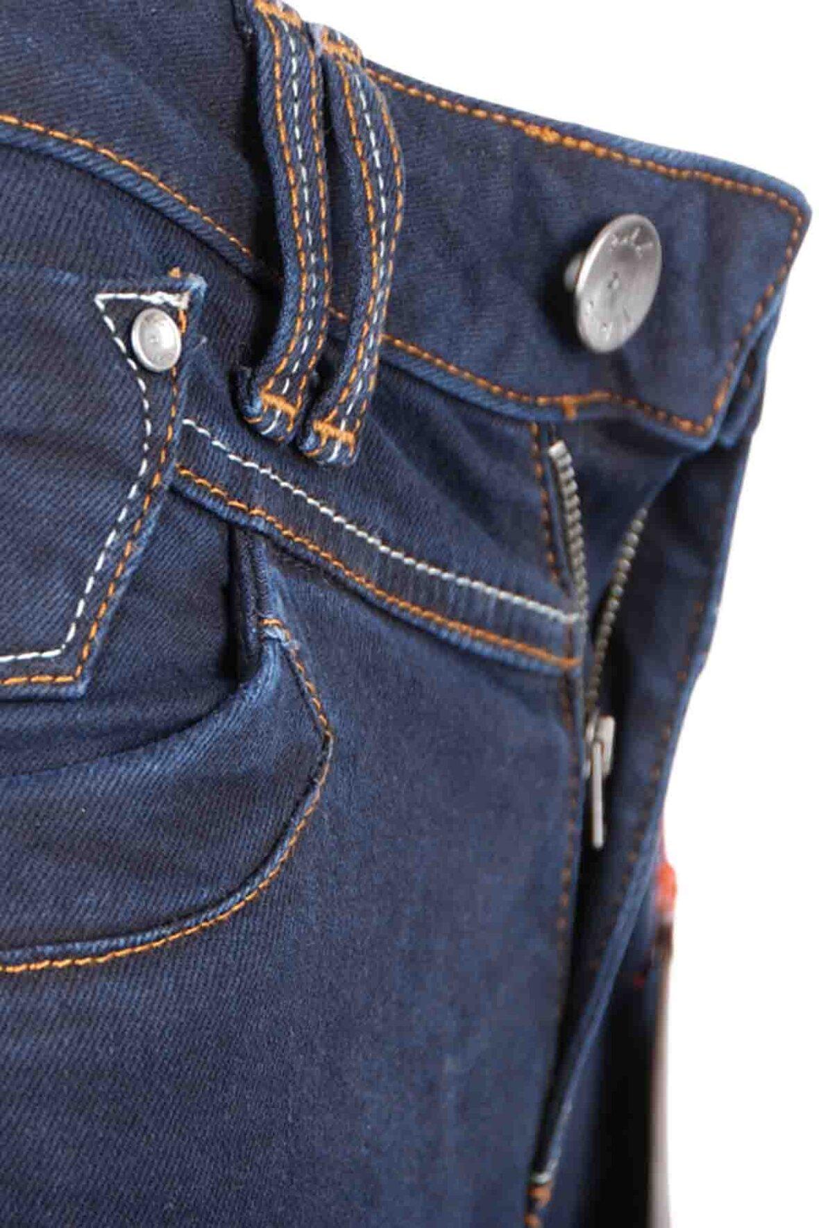 5f94967bc7c Pulz Tenna Highwaist Jeans, buks, 50200984 - Hos Lohse