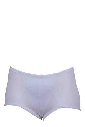 NATURANA - Panty 1010 Hvid og Sort