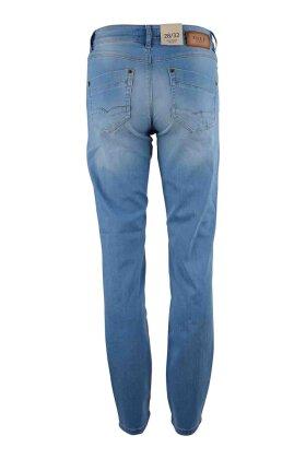 PULZ - Karolina Jeans Straight Highwaist Lys Denim