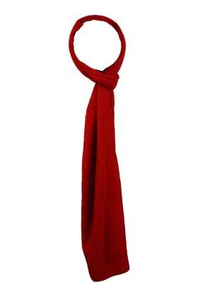 F HOUSE - Plisse Tørklæde Rød