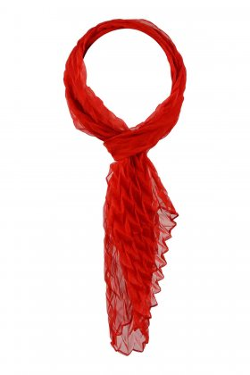 F HOUSE - Red Scarf