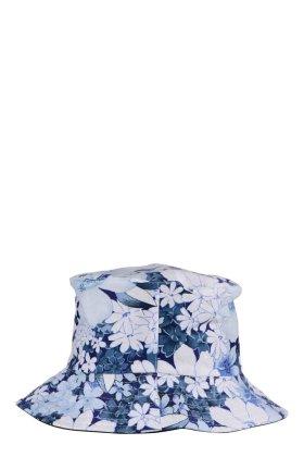 F HOUSE - Blue Flowered