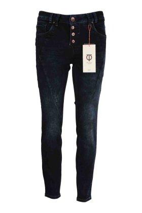 PULZ - Rosita Ankle Jeans Mørk Denim