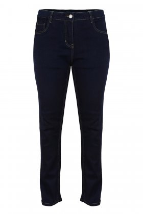 ZHENZI - Step Fit Jeans Mørk Denim