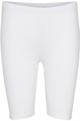 DECOY - Jersey Stretch Shorts Leggins Hvid