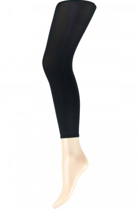DECOY - Microfiber Leggings 40 Denier Sort