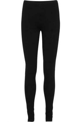 DECOY - Viskose Jersey Leggings 100 Denier Sort
