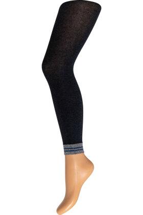 DECOY -  Lurex Bomuld Leggings 140D
