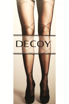 DECOY - Tights Shimmer Bands 25D
