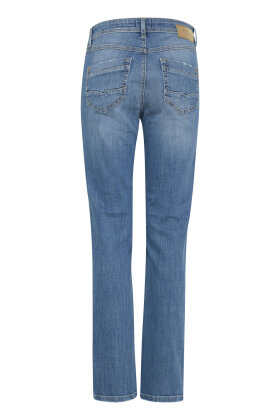 PULZ - Karolina Highwaist Straight Jeans Lys Denim