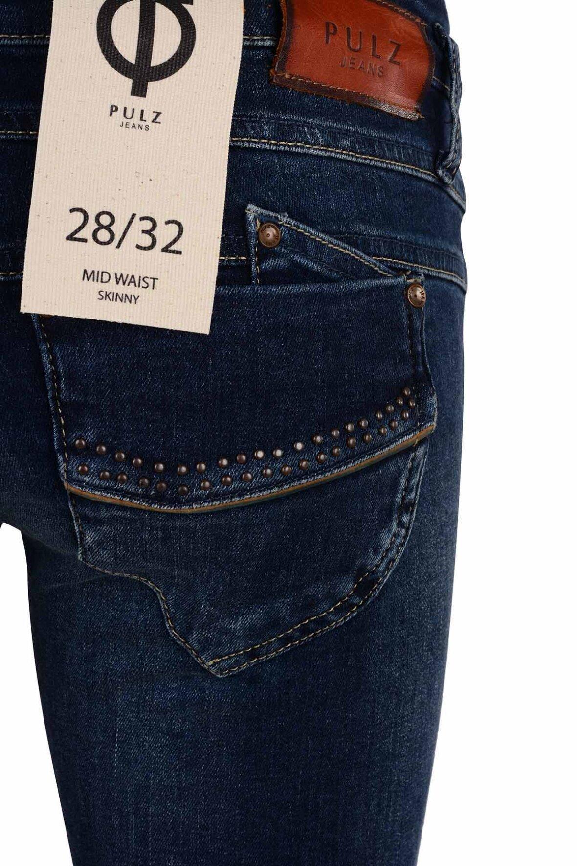 5505569d95b Pulz Anett Midwaist Skinny jeans stort udvalg - Hos Lohse
