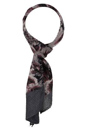 F HOUSE - Lille Tørklæde Rose Print