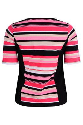MICHA - Stribet T-shirt