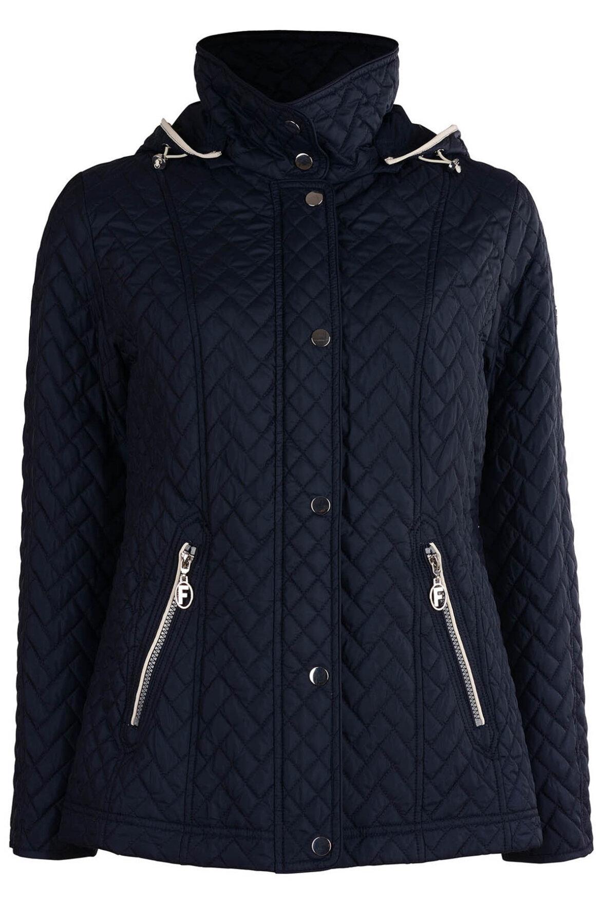 039d70a8 Frandsen Windbreaker jakke med god længde til overgangen - Hos Lohse