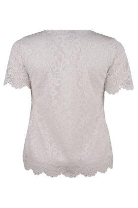 BASSINI - Blonde Bluse Med Fast Top