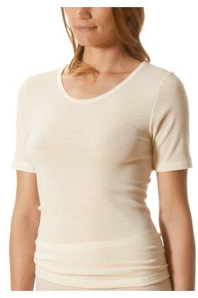MEY - Primera Uld Tshirt med Kort Ærme