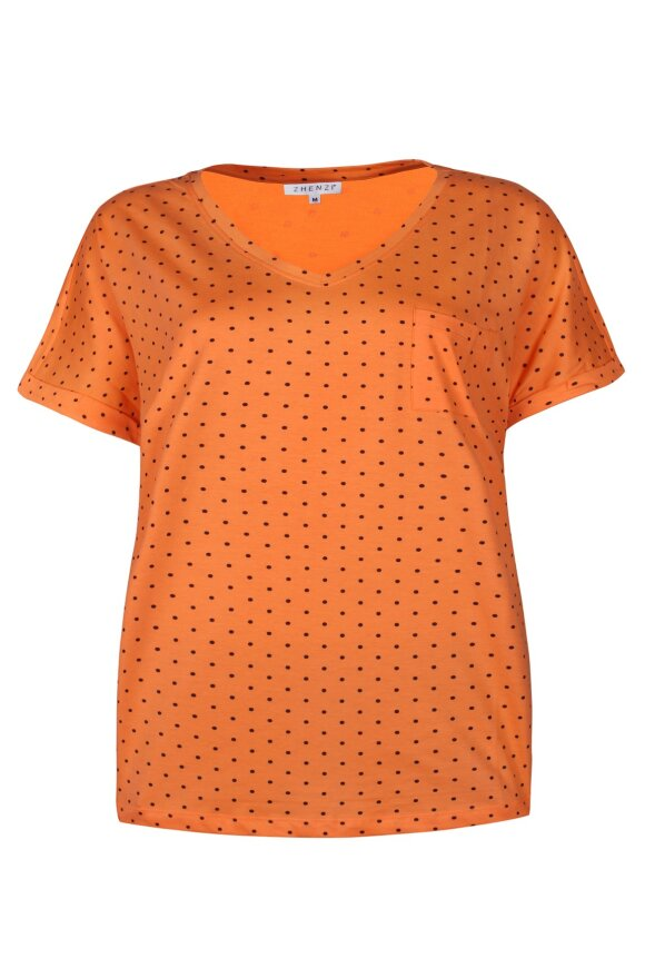 ZHENZI - Annette Prikket T-shirt