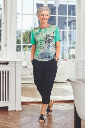 BRANDTEX - T-shirt Grøn