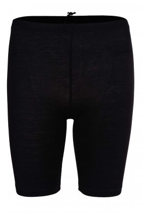 DECOY - Viskose Shorts Leggins Sort