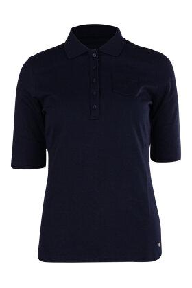 GERRY WEBER - Polo Bluse Marine