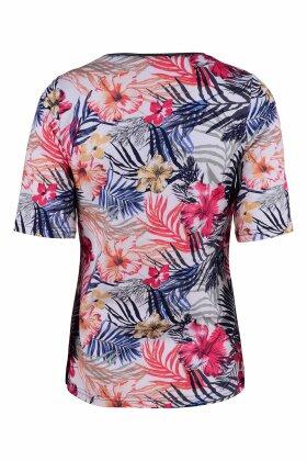 MICHA - Blomstret T-shirt