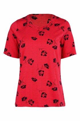 MICHA - T-shirt Flet Ved Hals
