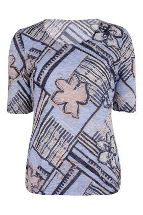 GERRY WEBER - Let transparent T-shirt Mørkeblå