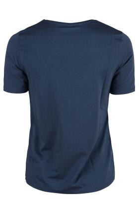 GERRY WEBER - Casual Vibes T-shirt Blå
