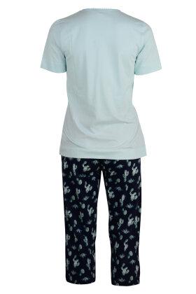 PASTUNETTE - Kaktus Pyjamas med Stumpebukser