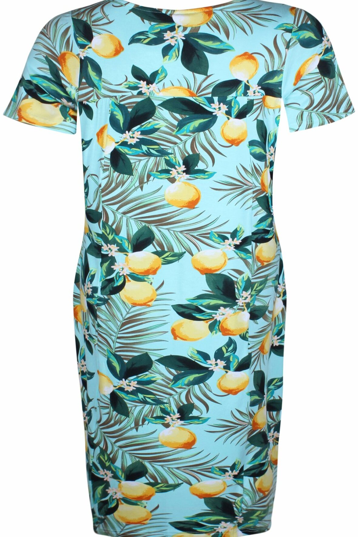 Zhenzi lisbeth kjole lemons smuk sommerkjole til dig med