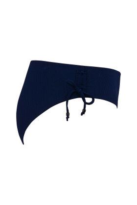 PLAISIR - Relief Tai Bikini Trusse Mørkeblå