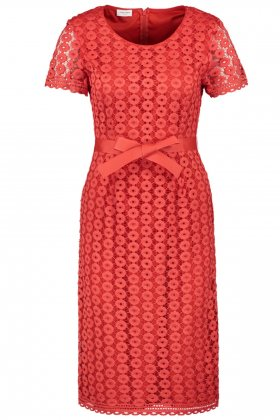 GERRY WEBER - Red Lace Dress