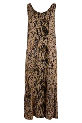 PULZ - Nelly Long Dress Beach Sand
