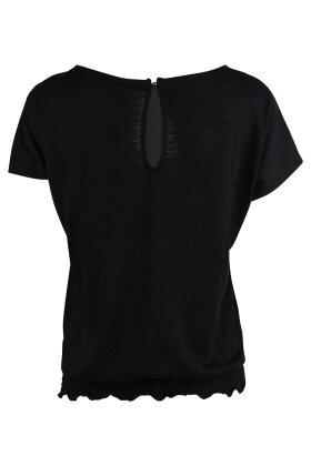 PULZ - Miranda Wing T-shirt Sort