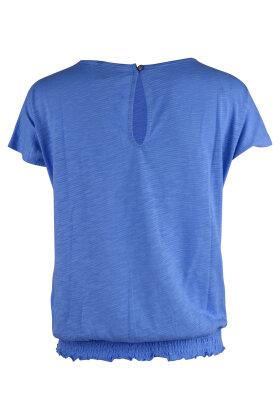 PULZ - Miranda Wing T-shirt Lyseblå