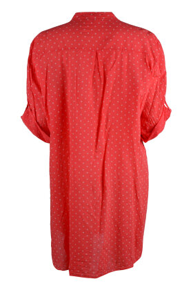 ROUGH & ROSE - Bigshirt Dots Coral