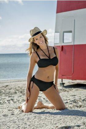 WIKI - Swim Tai Justerbar Bikini Trusse Sort