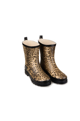 SKVULP - Gummistøvle Leopard