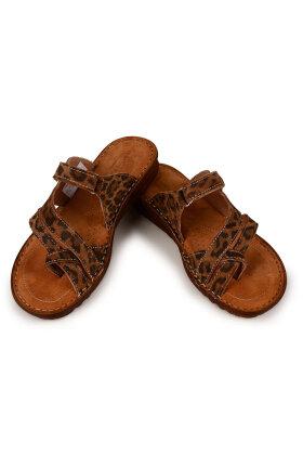 RELAXSHOE - Leopard Sandal