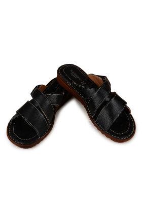 RELAXSHOE - Slip-in Sandal i Sort