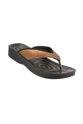AEROWALK - Aerowalk Tå Sandal Bronze Glimmer