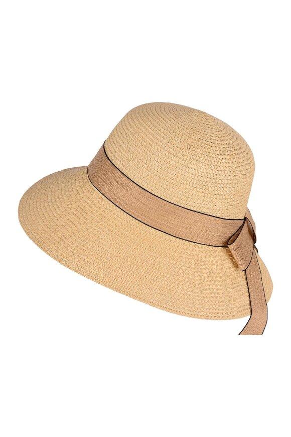 F HOUSE - Hat i Flet Sandfarvet