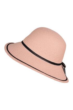 F HOUSE - Rosa Tæt Flettet Hat