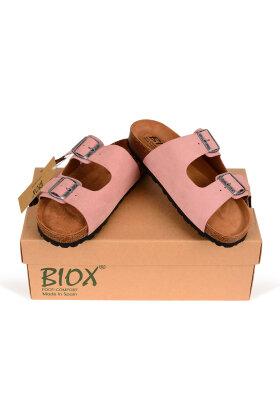BIOX - Rosa Skind Sandaler